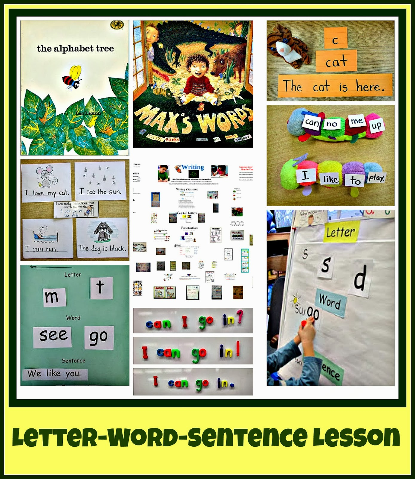 Worksheet Letters Kindergarten kindergarten holding hands and sticking together letter word sentence lesson