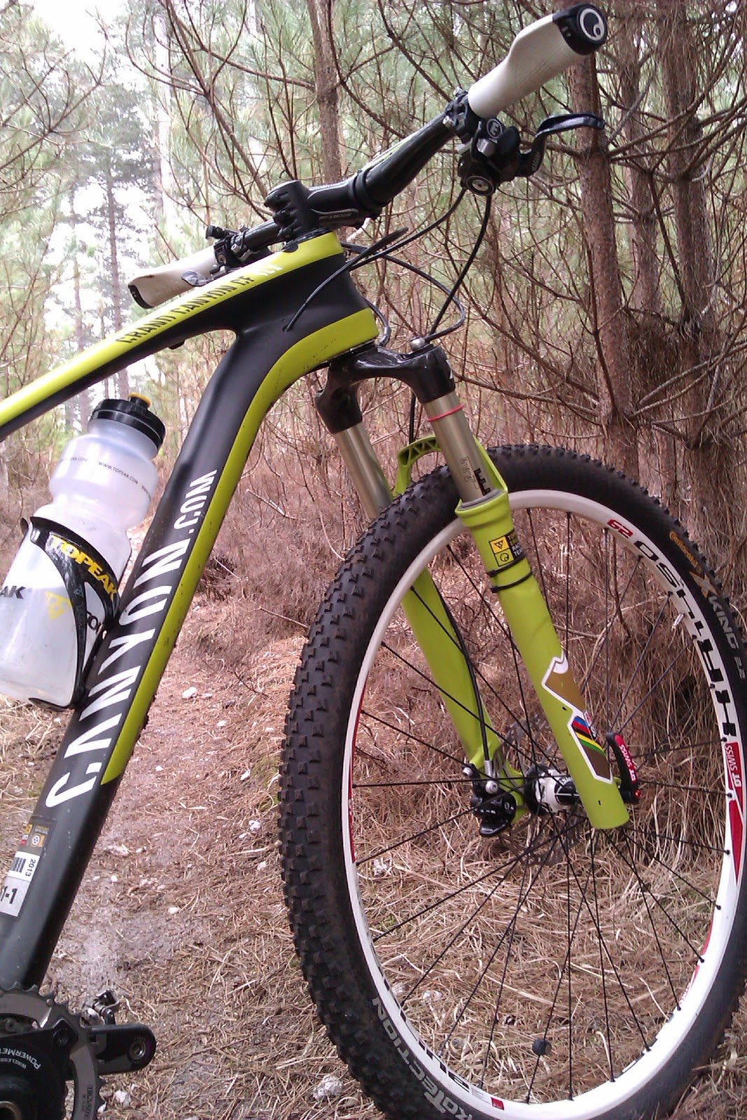 SALLY BIGHAM: Perfectly Proportioned: Grand Canyon CF SLX 29er size ...