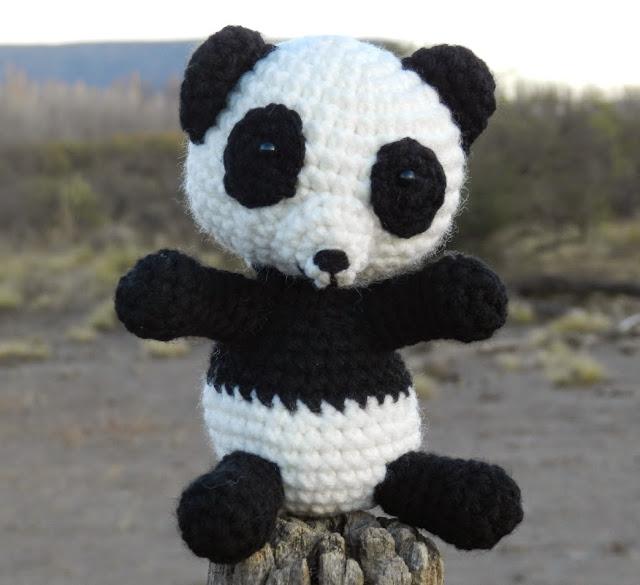 Modele Amigurumi Panda : daxa rabalea: Oso Panda amigurumi