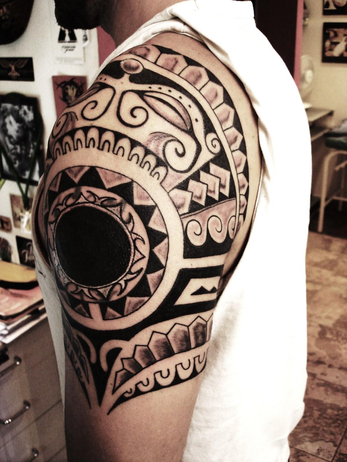 Tatuaje maori sol - Imagui