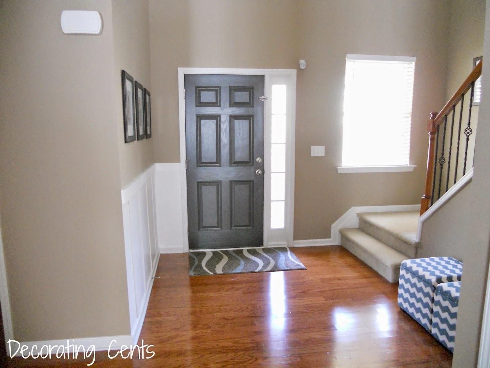 Gray Front Door | Home Design Minimalist Living Room
