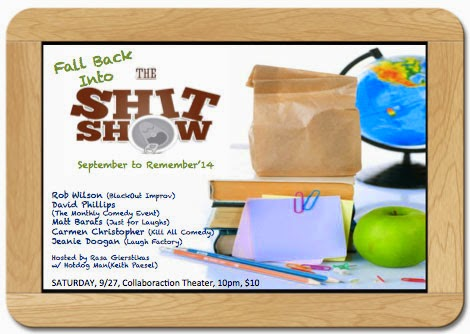 The Sh*t Show - Sept 27th!