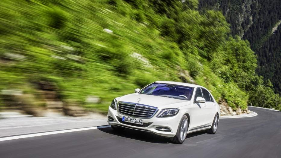 2015 Mercedes-Benz S550 Plug-in Hybrid first drive
