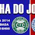 Ficha do jogo: Coritiba 3x2 Bahia - Campeonato Brasileiro 2014