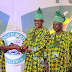 Photos: Buhari commissions projects in Ogun State, attends presidential luncheon