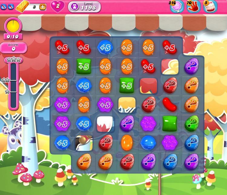 Candy Crush Saga 1198