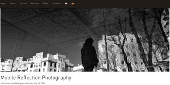 My article about Mobile Reflection Photography