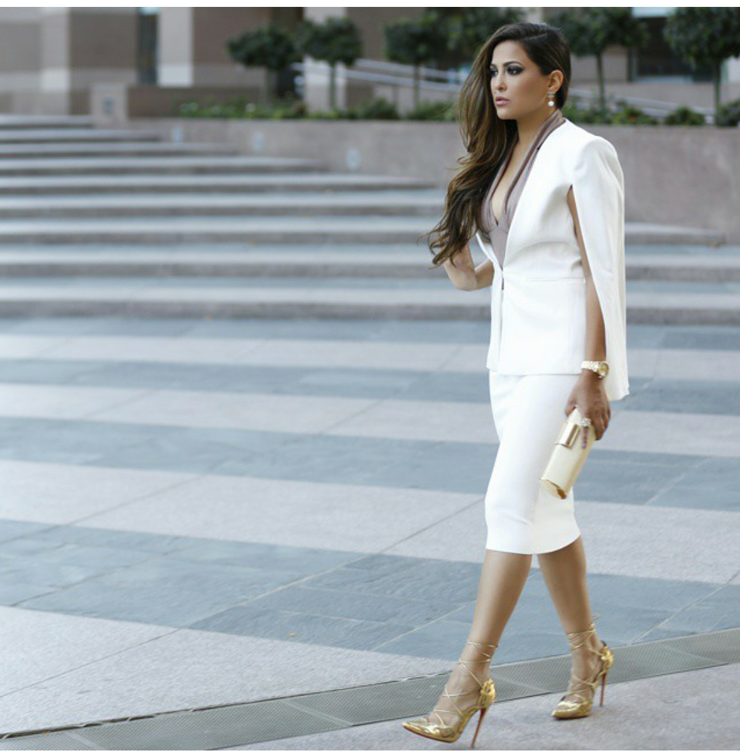 Fashion Is My Drug: White Is The New Black!