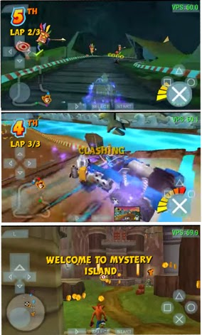 download Game PPSSPP Crash Tag Team Racing(CTR)