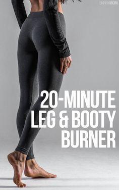 20-Minute Leg & Booty Burner