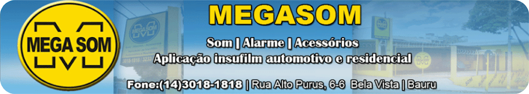 MEGASOM - Tudo sobre acessórios automotivos
