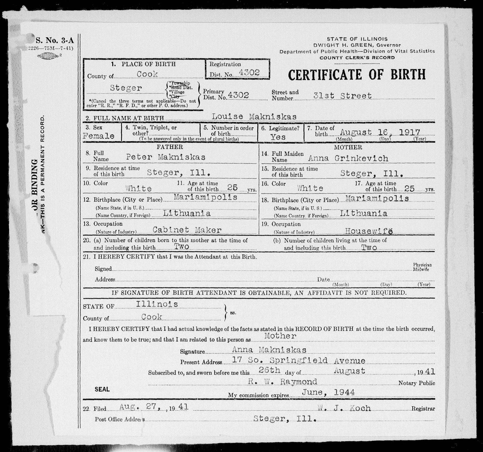 My search for dead ancestors january 2012 the 1920 census enumeration states the following information anna also known as ona was enumerated in chicago where she and her husband peter aiddatafo Image collections