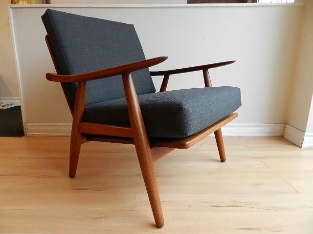 Hans Wegner Lounge Chair   Sold