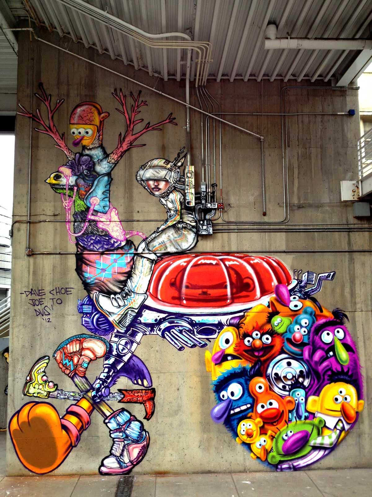 mural painting artists - graffiti artits