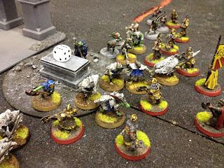Hobbit SBG - Khazad push Goblins back