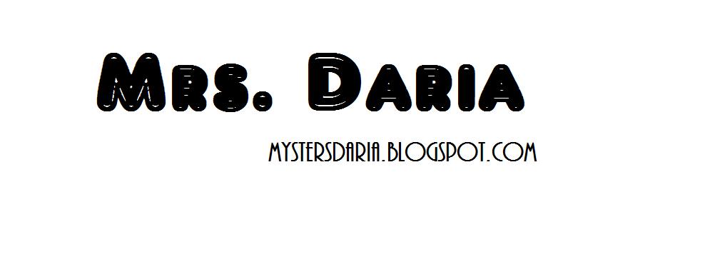 Mrs. Daria