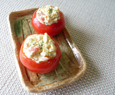 Tomatoes Stuffed with Egg Salad