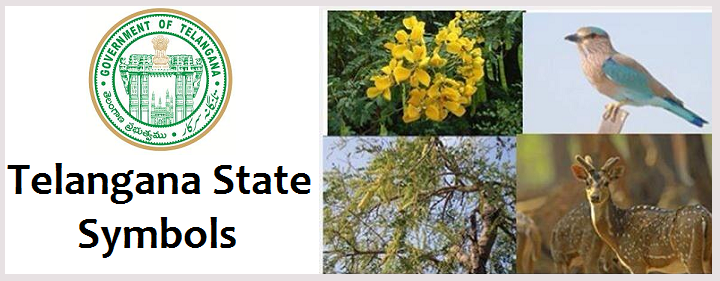 Telangana State Symbols States Official Flower Tree Bird And