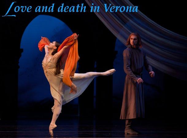 Misa Kuranaga and Pavel Gurevitch in Romeo and Juliet.