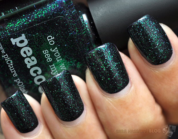 piCture pOlish Opulence Collection: Peacock