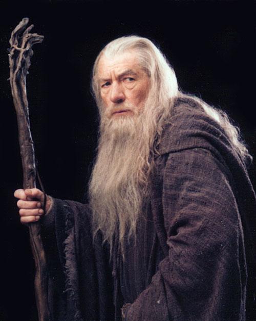 Le seigneur des anneaux : la communauté de l'anneau Ian+McKellen+as+Gandalf