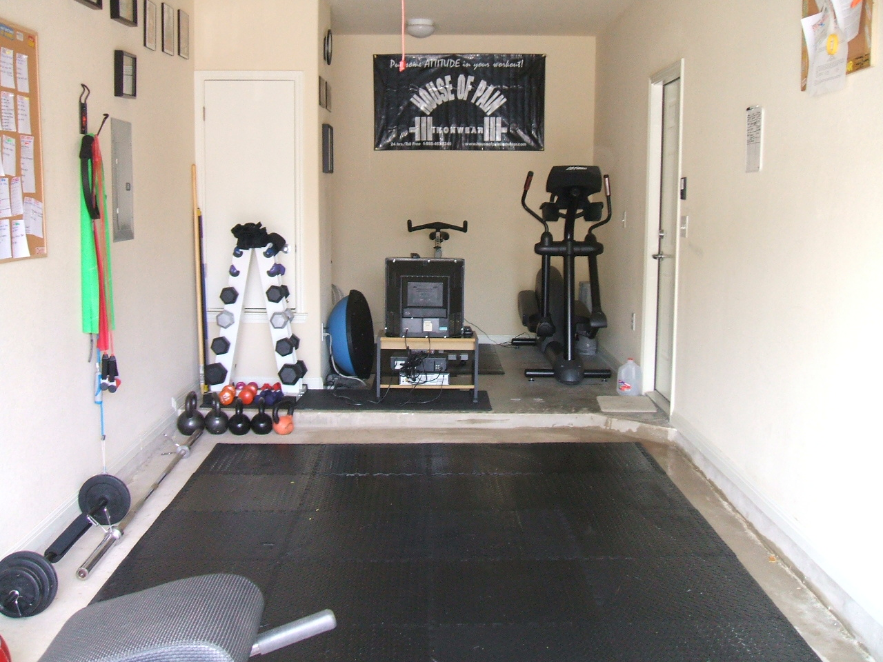 The fitness journey of fitgirl atx my garage gym makeover