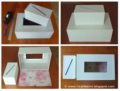 Incartesimi scatola portabuste money box per chiara e marco for Costruire la mia piccola casa online