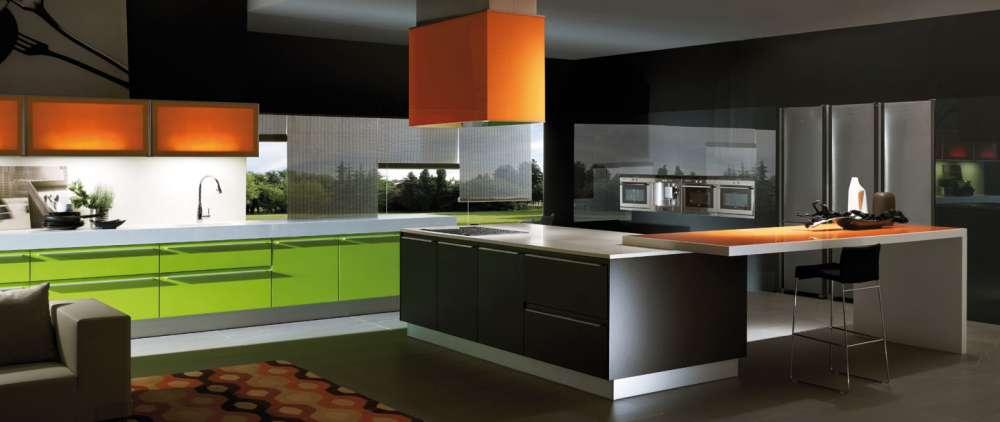 La versatilidad de las encimeras de la cocina cocinas for Encimera acero inoxidable