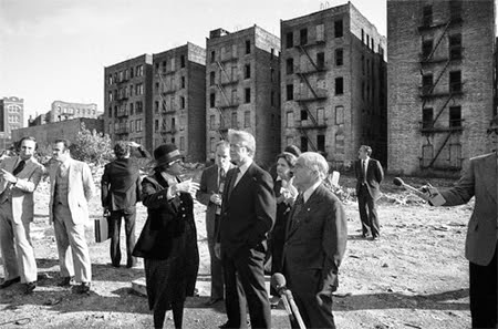 Jimmy Carter - South Bronx 1977