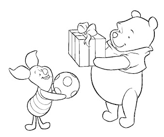 #8 Winnie The Pooh Coloring Page
