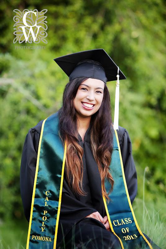 graduation portrait cal poly pomona