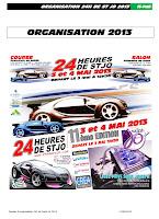 ORGANISATION 24H 2013