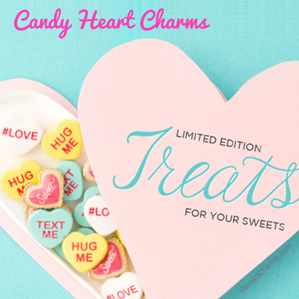 Origami Owl Valentine's Heart Charms - LIMITED EDITION - Order ASAP as these will sell out | Shop StoriedCharms.com