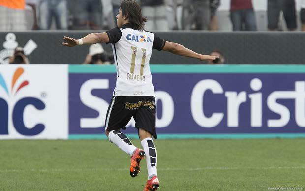 Romero faz primeiro gol do Corinthians pelo estadual