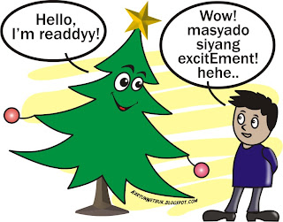 ready for christmas tagalog cartoon