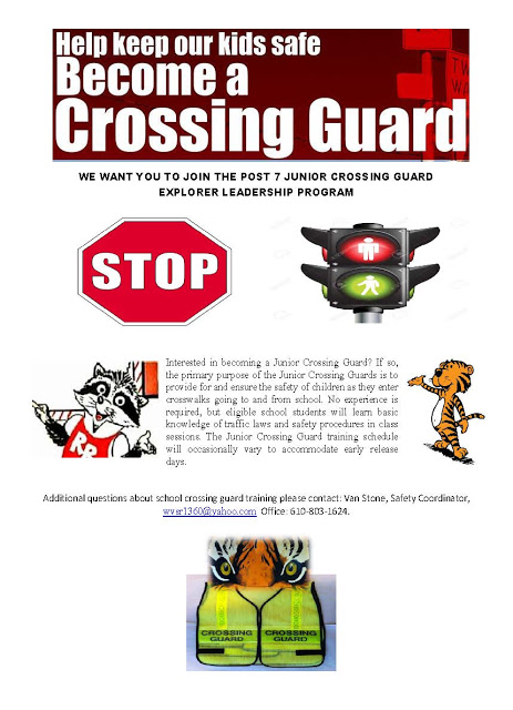 SUPPORT VAN STONE'S CROSSING GUARDS AND YOUTH PROGRAMS TODAY