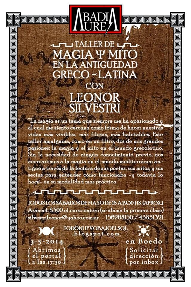 nuevo taller de Magia Antigua