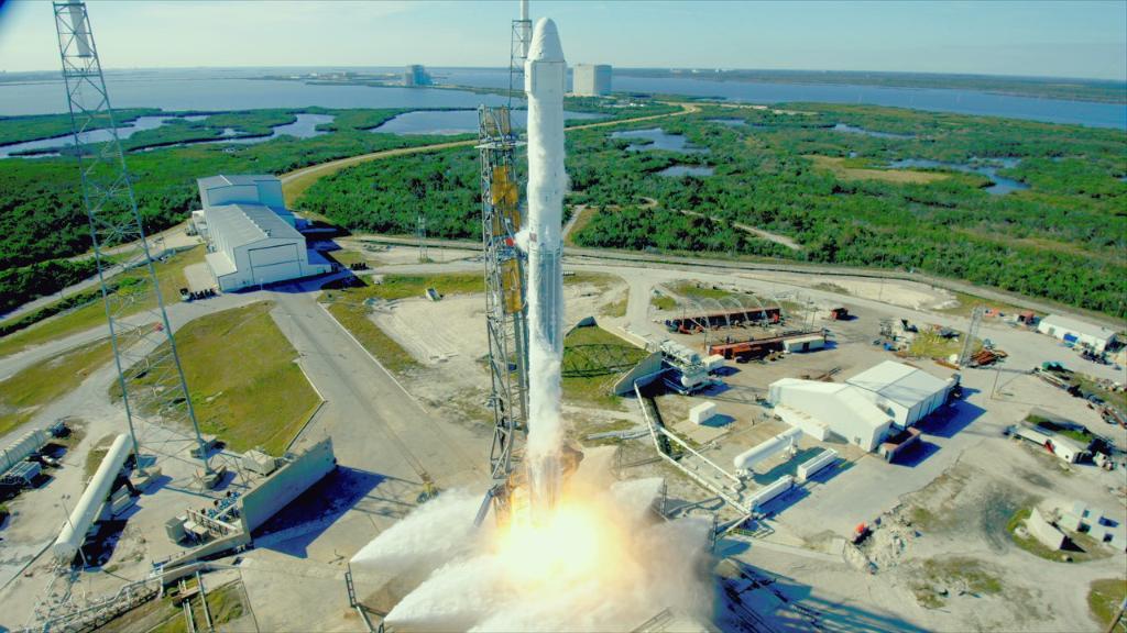 NASA envia nova pesquisa para a estação espacial a bordo da missão SpaceX Resupply