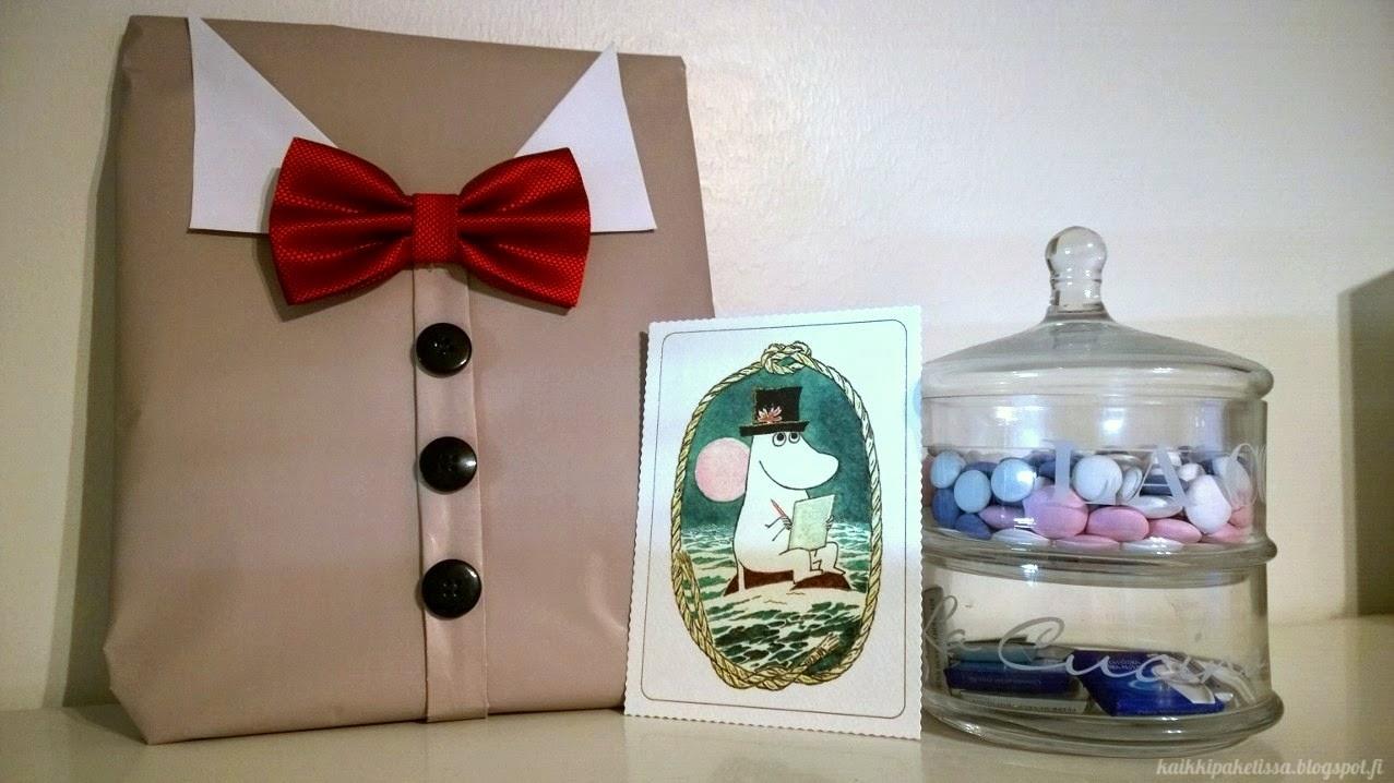 kaikki paketissa paketointi-idea gift wrapping idea