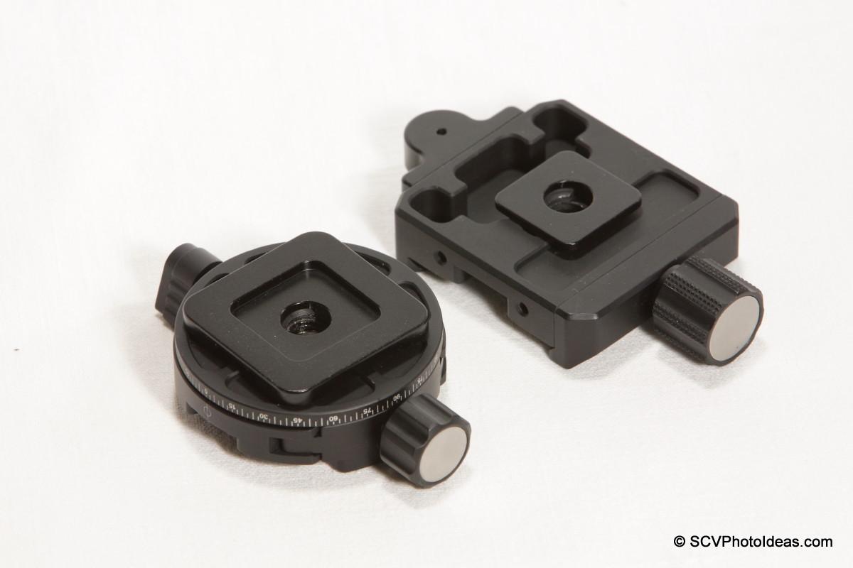 Sunwayfoto MPP-01 + DDH-02 + XB-44 mounting seq