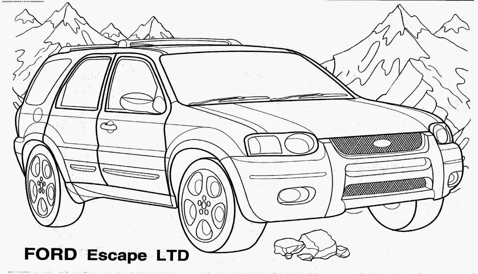 All Car Coloring Pages : Pictures of cars to color free coloring