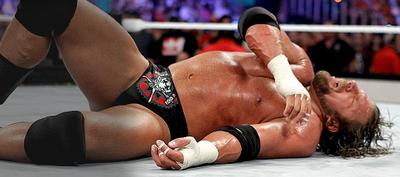 Triple H derrotado a causa de brock lesnar en SummerSlam 2012