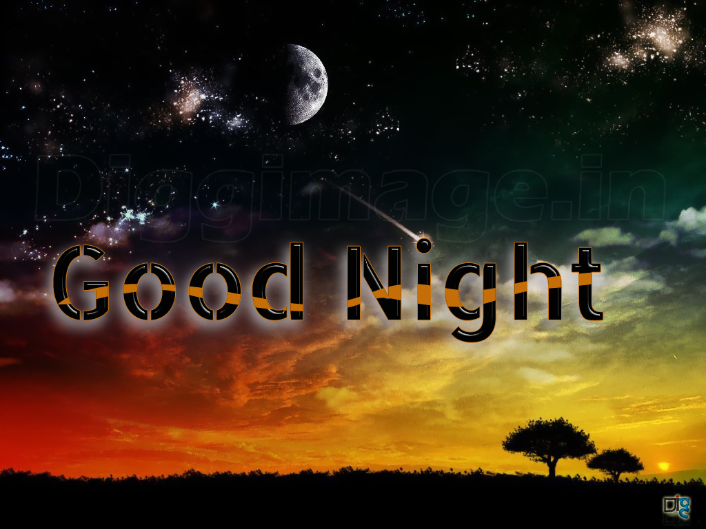 Free Good Night desktop wallpaper (1024 x 768 )