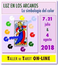 * * * ON·LINE * * * ABIERTAS INSCRIPCIONES!!!!! Descubre el significado de los COLORES en el TAROT