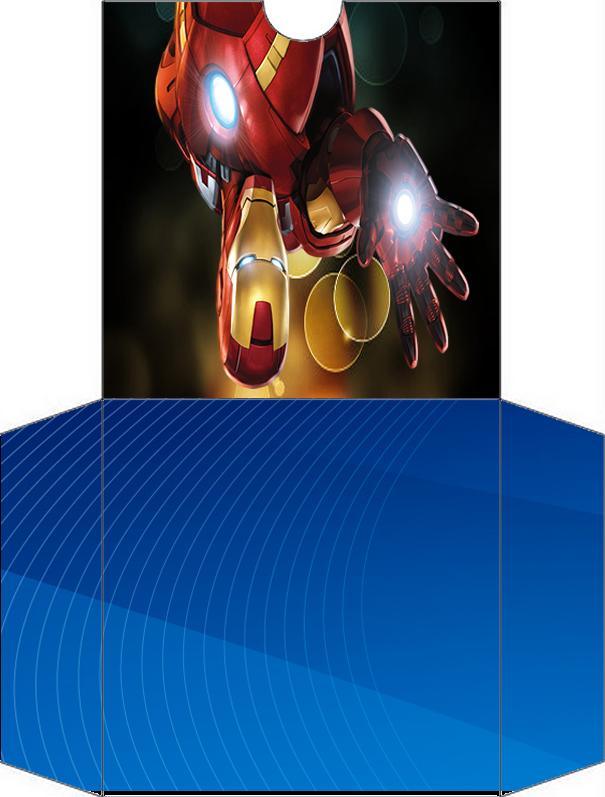Funda de Iron Man para CD's para imprimir gratis.