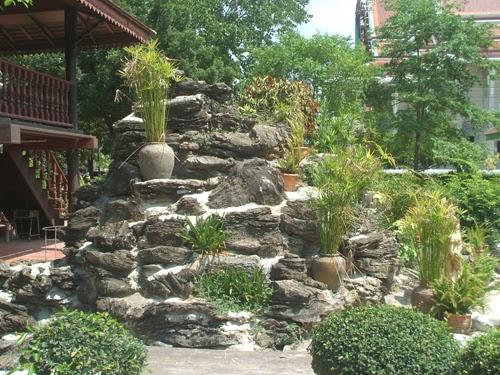 ideias de jardim grande:Crie Jardim: Idéias para jardins – decoração com pedras