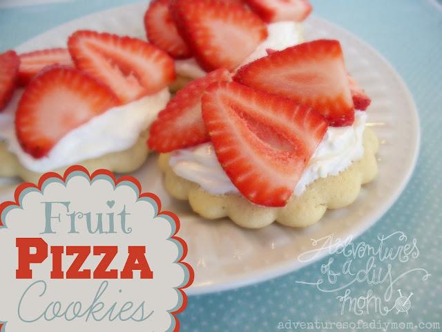Fruit Pizza Cooies