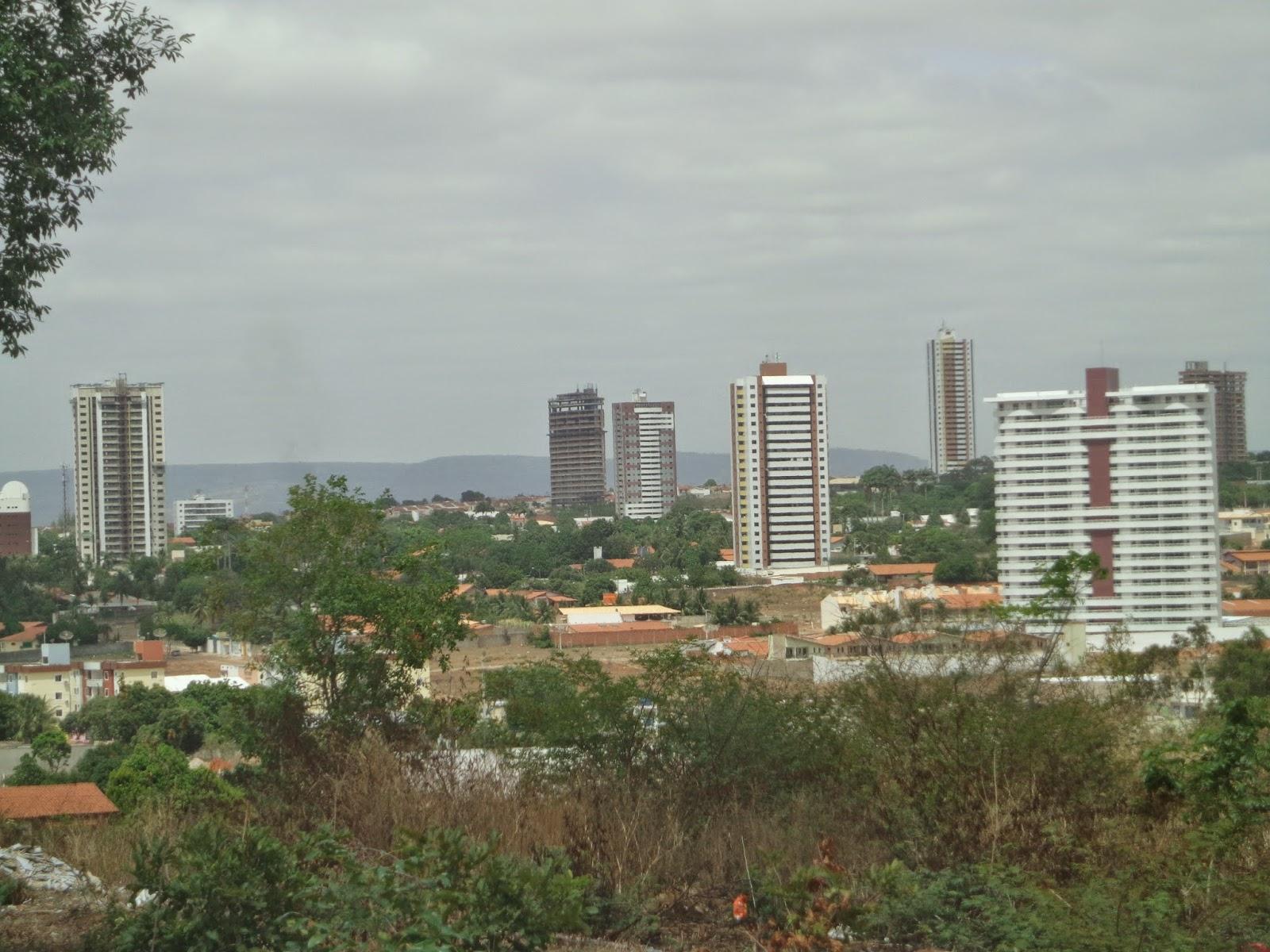 Vista panorâmica da Lagoa Seca em Juazeiro do Norte.