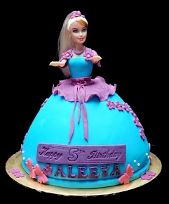Doll Cake Fondant (RM180)