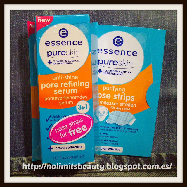 Essence Pure Skin Pore Refining Serum +  Purifying Nose Strips